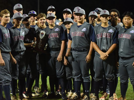 Members of the Tallahassee, Fla., team pose with the