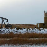 A jack pump drills for oil in the Bakken region of Montana.