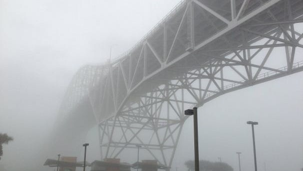 Officials for the Port of Corpus Christi say fog delays in December hit the highest point in years. The port was shut down to prevent vessel collisions.