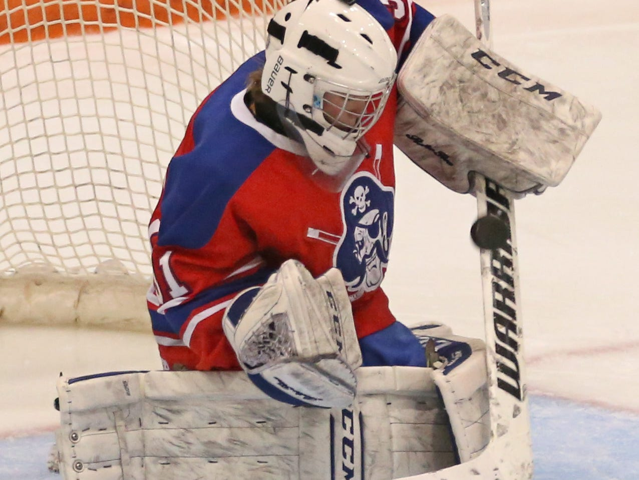 Ethan Kaiser stopped 94.2 percent of the shots he faced as a junior and is one of the key returning players for Fairport this season.