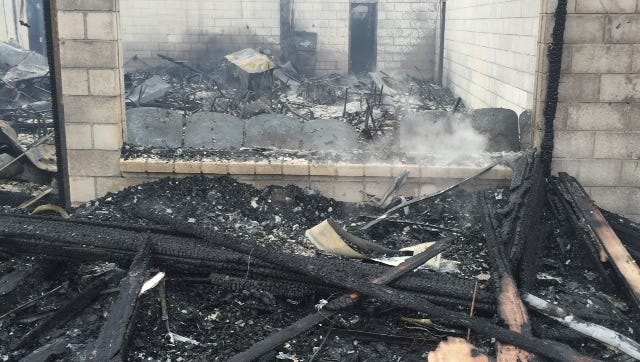 An early-morning fire today destroyed Cuevas Fish House on U.S. 11.