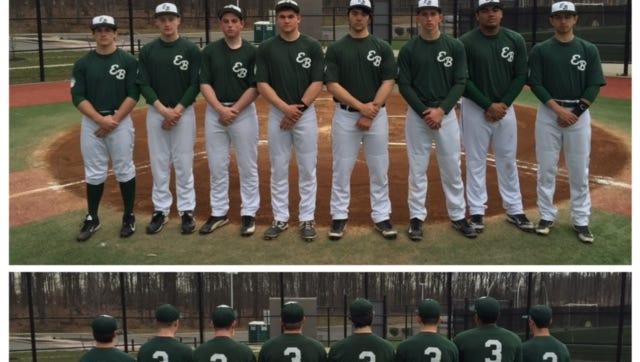 Pictured from left to right in top photo: Chris Cap, Ryan Murphy, James Tagerty, Tyler McNamara, Victor Dudka, Nick Smutko, Juan Ganzaroli, Brandon Chaskes