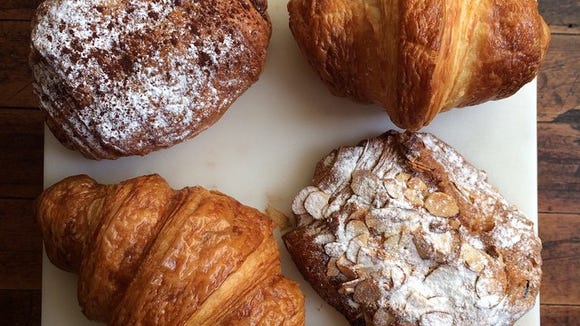 Croissants from CH Patisserie.