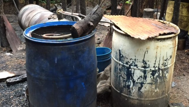 A Rankin man has been charged in connection with a moonshine still.