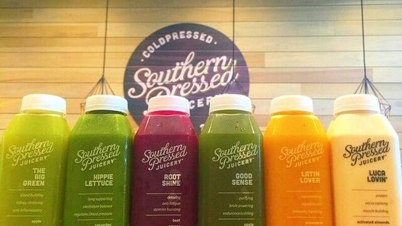 Southern Pressed Juicery will give away free juice Saturday from 11 a.m. to noon.