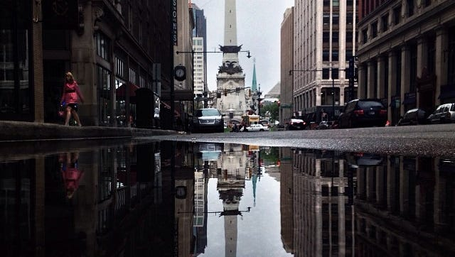 Photo of downtown Indy via @the_gris on Instagram.
