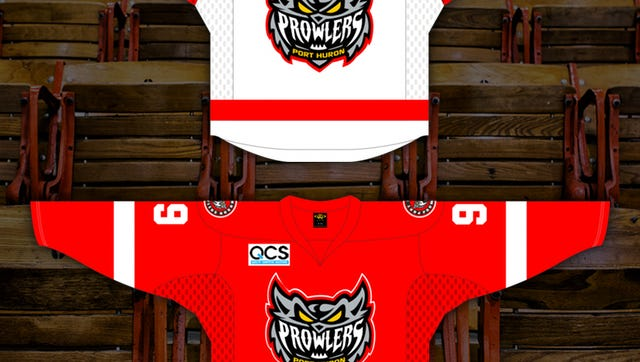 Port Huron Prowlers 2015/16 jerseys