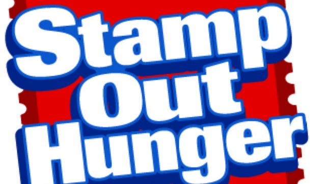 Nonperishable food left in sturdy bags by mailboxes will be picked up by letter carriers on Saturday for the Stamp Out Hunger food drive. The food collected in Central Louisiana will be distributed through the Food Bank of Central Louisiana.