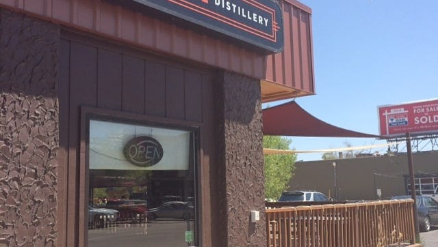 Coppermuse Distillery in Old Town Fort Collins.