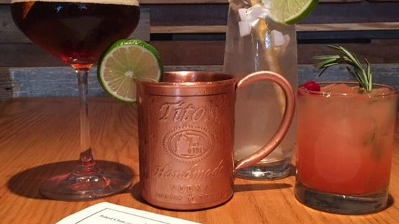 Try the hottest drink of the summer at Keg & Kitchen - a Moscow Mule.