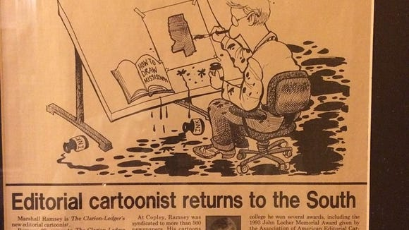 1996 vs. 2014: How my cartooning has changed and stayed the same.