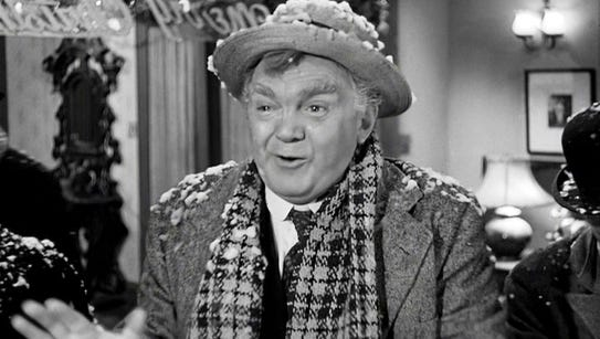 """Thomas Mitchell as Uncle Billy in """"It's a Wonderful"""