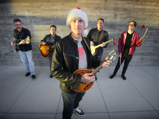 Ryan Shupe and the RubberBand will perform their annual Christmas show on Dec. 17 at the Cox Performing Art Center in St. George.