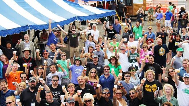 Lansing Beer Fest in REO Town has become a popular draw in the area.