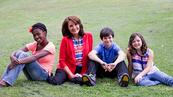 """Liz Everman pairs caring foster children, like the ones pictured, with loving families through her """"Wednesday's Child"""" series."""