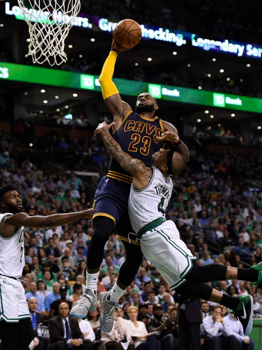 Isaiah Thomas doesn't think the Cavaliers are the 'Monstars', which may or may not be true