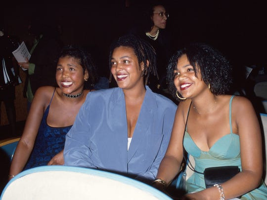 Bill Cosby's daughters Ensa, Erika, and Evin in a photo