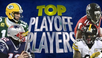 NFL's hottest playoff performers.