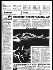 Battle Creek Sports History: Week of July 28, 1986