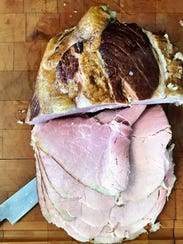 Smoked Heritage ham from Fossil Farms.