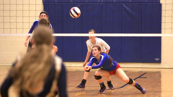 West Henderson rising senior Mary Catherine Ball has committed to play college volleyball for Belmont.