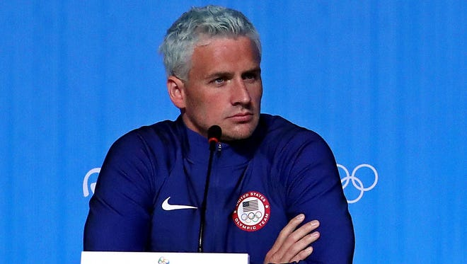 Rio police said U.S. swimmer  Ryan Lochte lied about being held up at gunpoint Sunday morning.