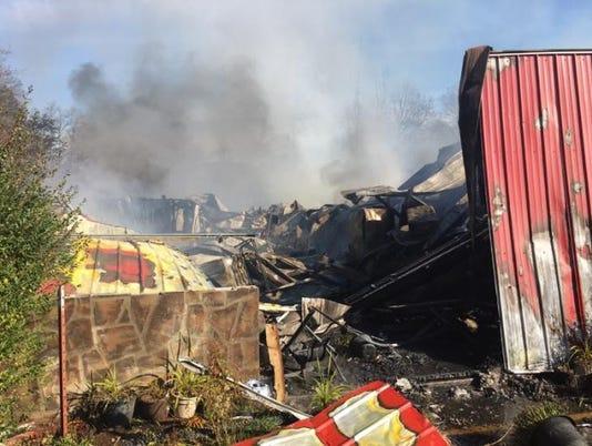 Barn fire at Little Ponderosa Zoo