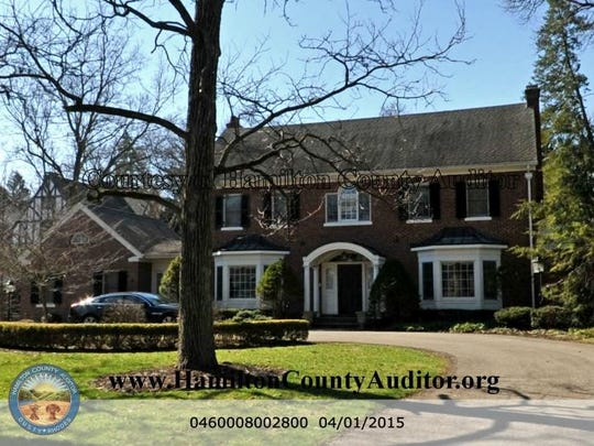 Charles Shor's house, as shown at the Hamilton County Auditor's website