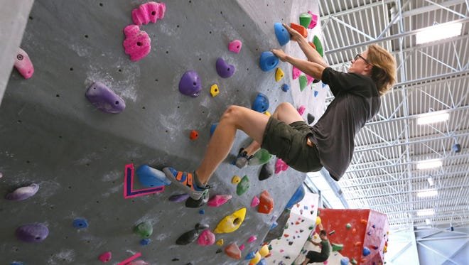 The 7th annual Doors Open Milwaukee, set for Sept. 23-24, 2017, received a $20,000 grant from the National Endowment for the Arts. Doors Open Milwaukee is a program of Historic Milwaukee, Inc. Adventure Rock, an indoor climbing wall facility at 2220 N. Commerce St. in Milwaukee, pictured here, was one of the stops in 2016. An earlier version of this caption incorrectly stated that funding for Doors Open Milwaukee came from the National Endowment for the Humanities and that it was a recipient in 2016.
