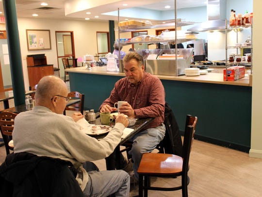 Farmington residents Fred Graney and Sante DiCarlo