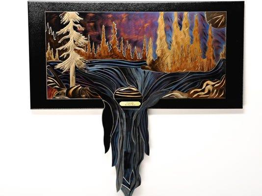 -Dave Roos, lobby piece titled Cascade.JPG_20140227.jpg