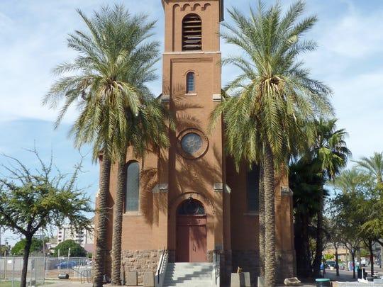 Old St. Mary's Church, aka the first Mt. Carmel Catholic Church, 230 E. University Drive, Tempe, was built in 1903.