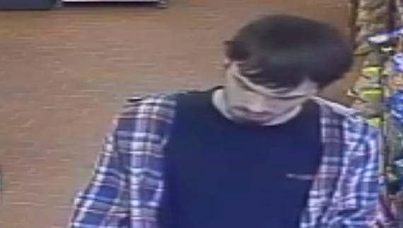 Authorities are seeking a suspect in an attempted robbery at George's Deli in Leicester on Thursday morning.