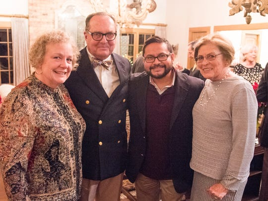 Anna Thomas, Dr. David Harvey, Manny Campos and Janet Harvey