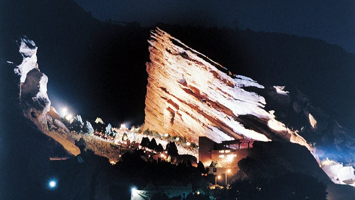 Red Rocks Amphitheater is the best spot for live music in the Denver area.