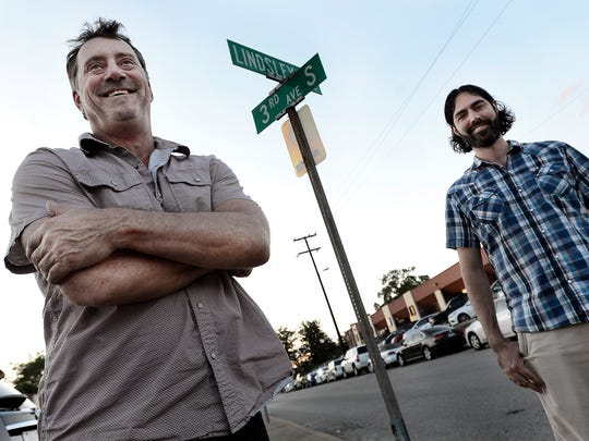 Ron Brice, owner of 3rd and Lindsley, stands with his