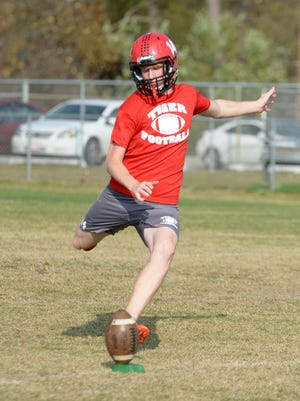 Lexington High School's kicker Ryan Courtright was named a semifinalist for the Mr. Football Kicker of the Year award.