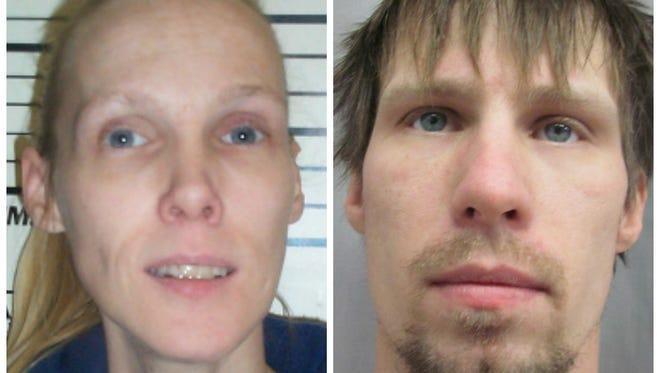 Tammie Lee Devore, 48, left,  and Karl Allen Devore, 30