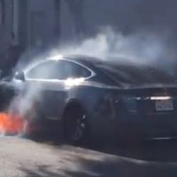 NTSB takes interest in Tesla fire involving family of 'West Wing' actress