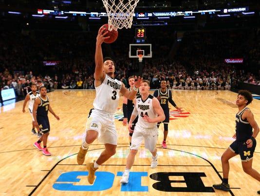 NCAA Basketball: Big Ten Conference Tournament-Purdue vs Michigan