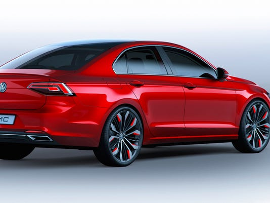 Vw Shows Jetta Cc Concept At Beijing