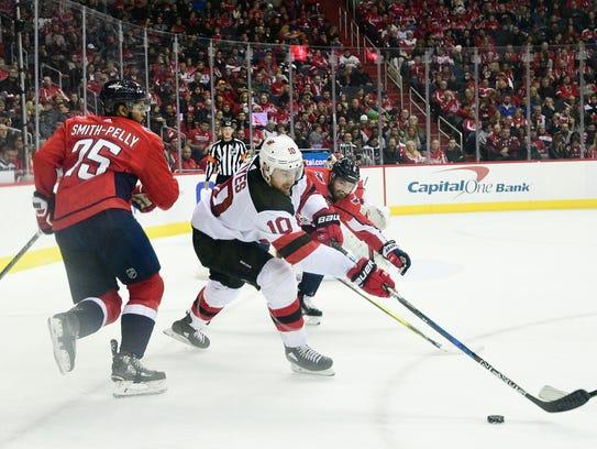 Apr 7, 2018; Washington, DC, USA; New Jersey Devils