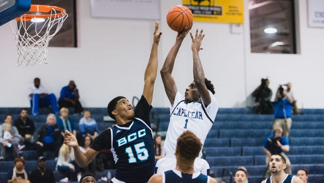 Alonzo Tyson, a 6-foot-10 forward, averaged 14.0 points and 8.4 rebounds a game this past season at Cape Fear Community College in North Carolina. Tyson said Monday he is transferring to CSU for his final two seasons of college basketball.