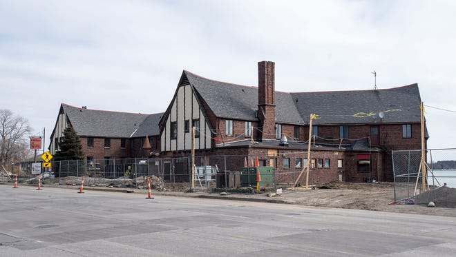 Developers said a year from now the St. Clair Inn will be open.