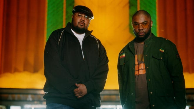 Blackalicious performs at the Haunt on Friday.