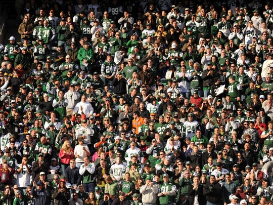 Some Jets fans will wind up sitting in a different section each week this season.