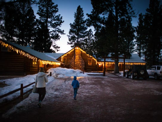 With on-site ski and snowshoe trails, sleigh rides,