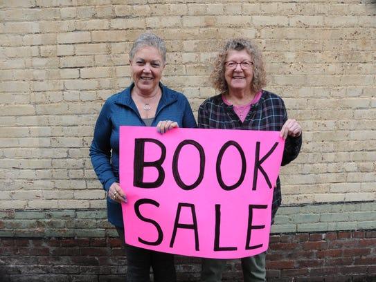 Penny Blackwell and Sandi Skoog at the Statesman Journal's