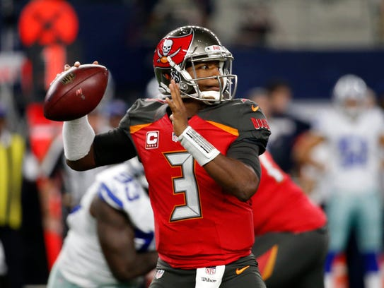 Jameis Winston will be playing in his second game after missing three with a shoulder injury.