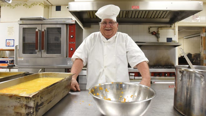 Bill Gheen retired from the Salvation Army on Friday, after cooking there for 37 years.